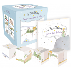 The Little Prince for babies - Book and 4 cube-puzzles