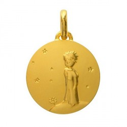 Medal Gold: The Little Prince - Planet - 14mm