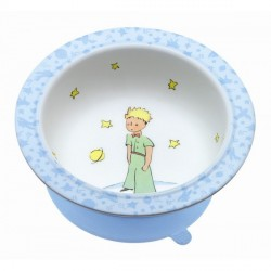 Bowl The Little Prince with suction pad - Blue