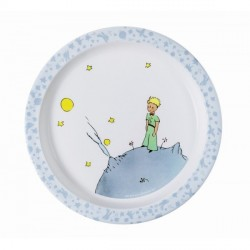 Baby plate The Litle Prince - Blue