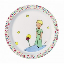 Baby plate The Little Prince - Pink