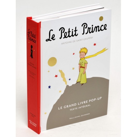 Le Petit Prince Grand Livre Pop-Up (Version Française)