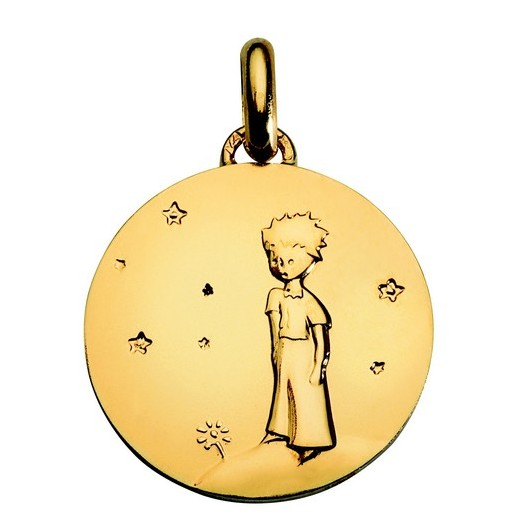 Medal Gold: The Little Prince - Planet - 18mm