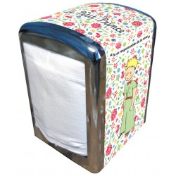 Napkins Dispenser The Little Prince and roses