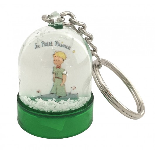 Snow globe key-ring The Little Prince on B612