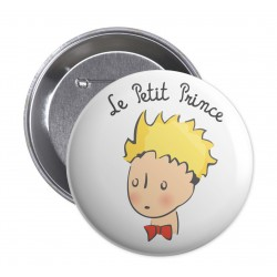Badge Le Petit Prince - Portrait