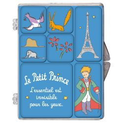 Set of 7 mini magnets The Little Prince - Blue