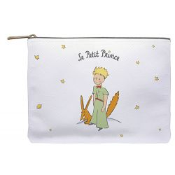 Big flat pouch The Little Prince and the Fox - 30 x 22,5 cm