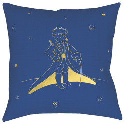 Cushion The Little Prince in outfit - 40 x 40 cm