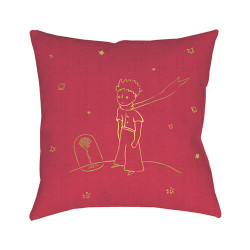 Cushion The Little Prince and the Rose - 30 x 30 cm
