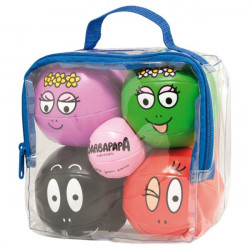Assortiment de 5 balles barbapapa